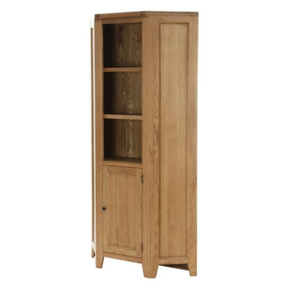 Besp-Oak Corner Display Unit