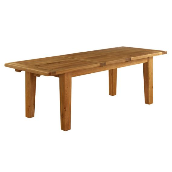 Besp-Oak 1.4m Extension Dining Table
