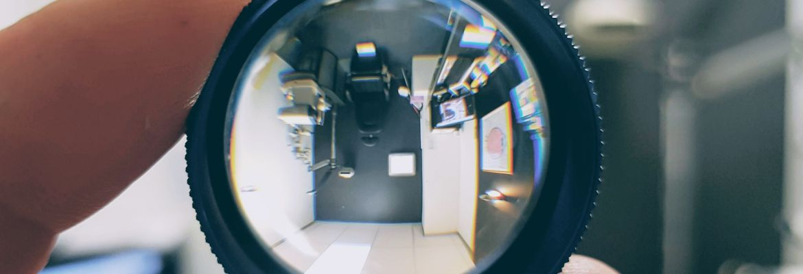 Exam Room Through Lens