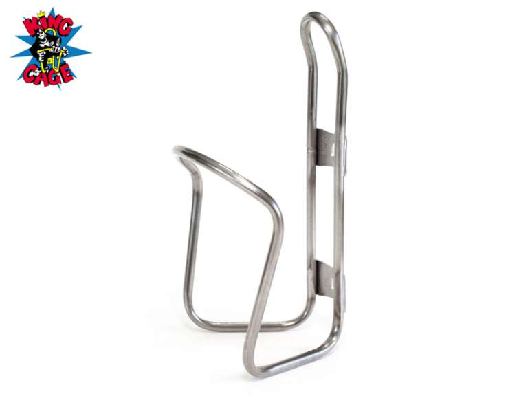 King Cage Stainless Steel Water Bottle Cage