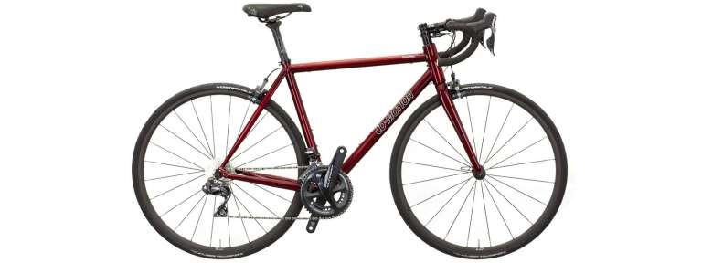 Co-Motion Ristretto with Ultegra Di2 and candy red paint