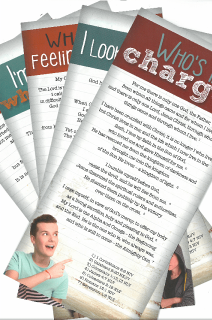 Complete Youth Proclamation Cards for Young People - Set of 6
