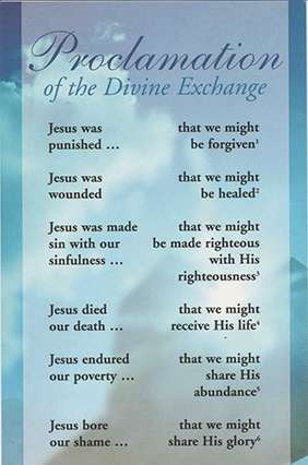 Proclamation of the Divine Exchange