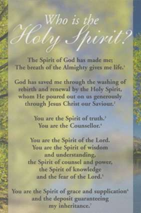 Proclamation - Who is the Holy Spirit?