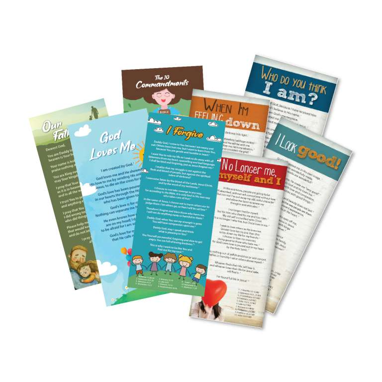 Complete Kids and Youth Proclamation Cards - Both sets
