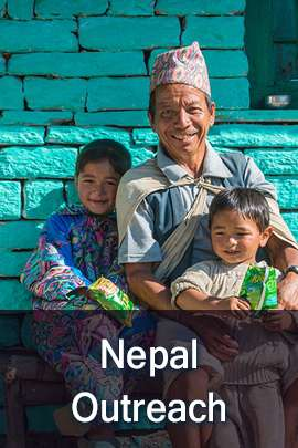 Donation to Nepal Outreach