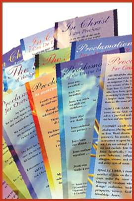 Complete Set of Proclamation Cards