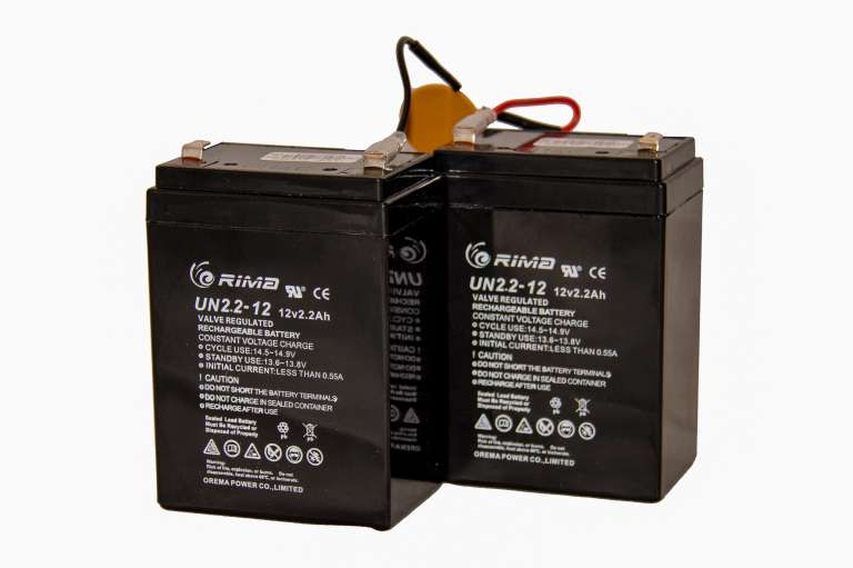 Batteries for Terrier / Mastiff Models of Gate Automation