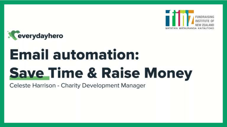 Email Automation: Save Time & Raise Money