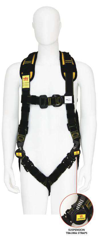 PROFESSIONAL ROOFERS HARNESS