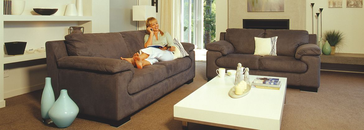 Domani Sofas - Florence lounge suite at Furniture Gallery Blenheim