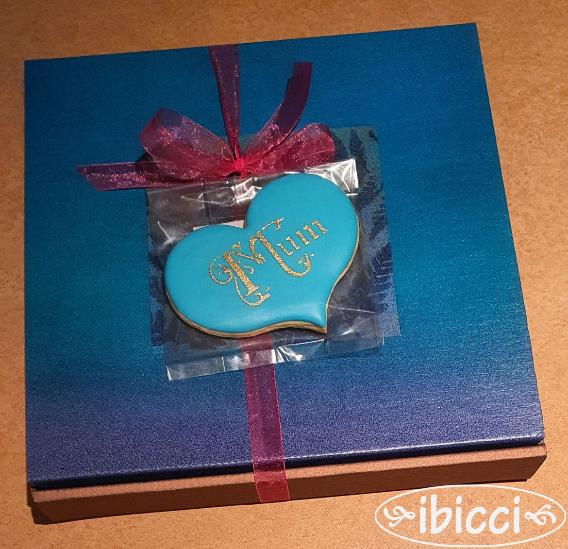 Mothers Day Boxed Stargazer Lily cookie order