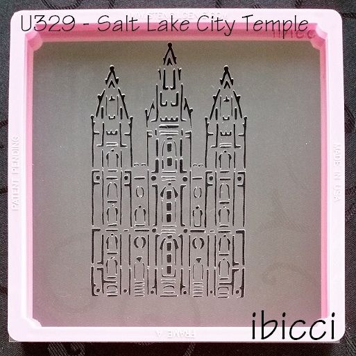 ibicci Salt Lake City Temple stencil