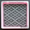 ibicci Polynesian Diamond Pattern Cookie Stencil - Square
