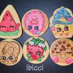 ibicci Shopkins Birthday cookies