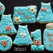 ibicci Teal Baby shower set