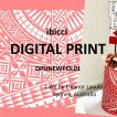 New Polynesian Digital Print 01 - White on Red
