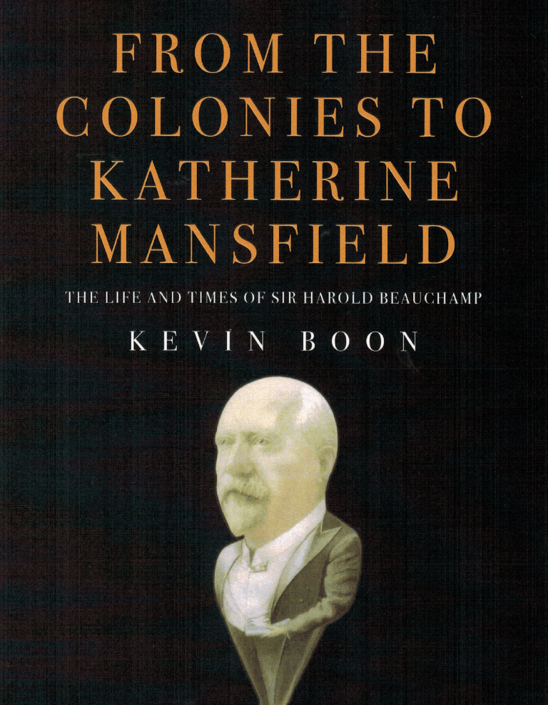 From the Colonies to Katherine Mansfield