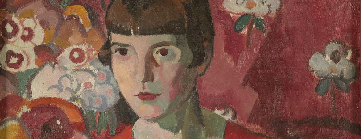 Katherine Mansfield by Anne Estelle Rice