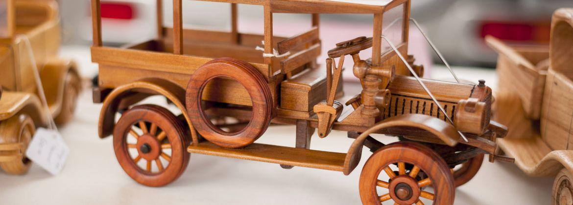 Ray Hill - amazing wooden toys
