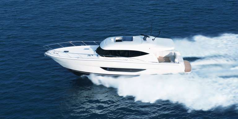 The magnificent S51 provides all the facilities and benefits of Maritimo's larger vessels in a more compact package on a single level.