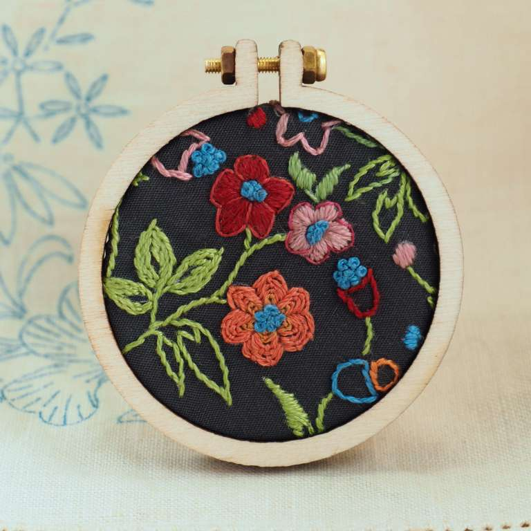Small Hoop Embroidery