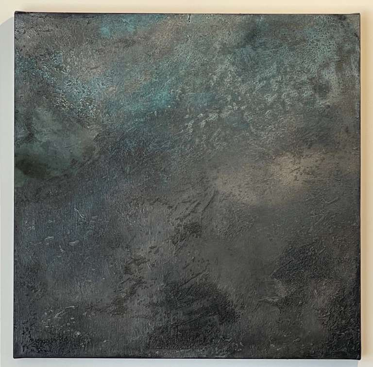 Kathaleen Bartha, Untitled 2021, Mixed Media on Canvas, 760 x 760, $1,100