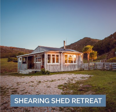 TE HAPU Shearing Shed Retreat holiday accommodation in Golden Bay, New Zealand