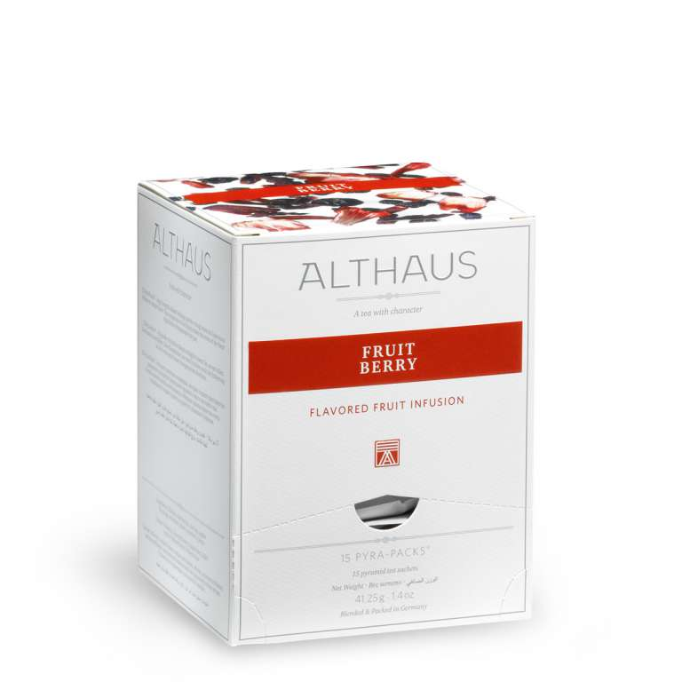 Althaus Fruit Berry Fruit Infusion - Pyra Pack