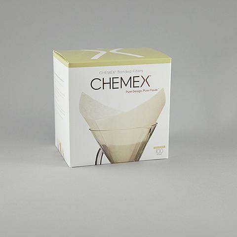 Chemex Paper Filters - 6, 8, or 10 Cup Folded Squares