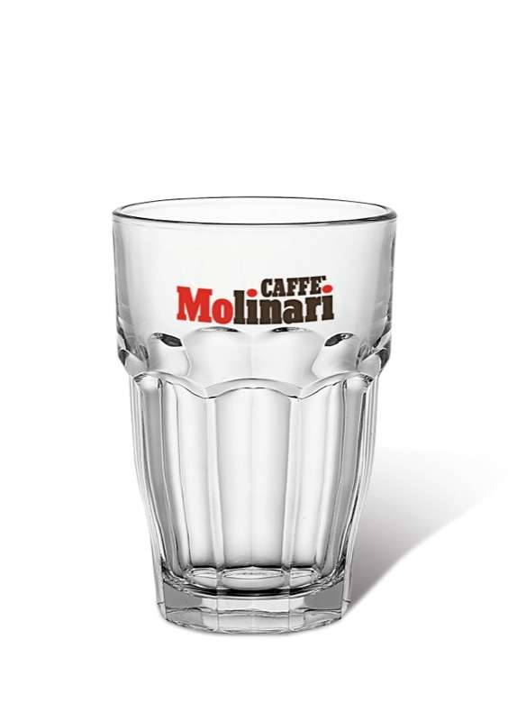 Caffe Molinari Latte Glass 370ml