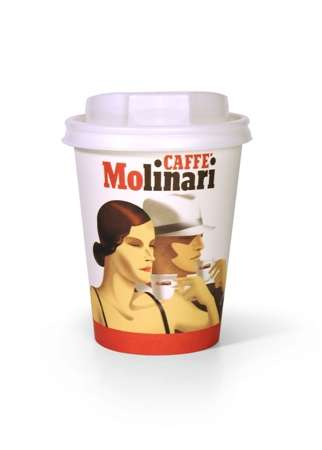 Molinari Takeaway Coffee Cup