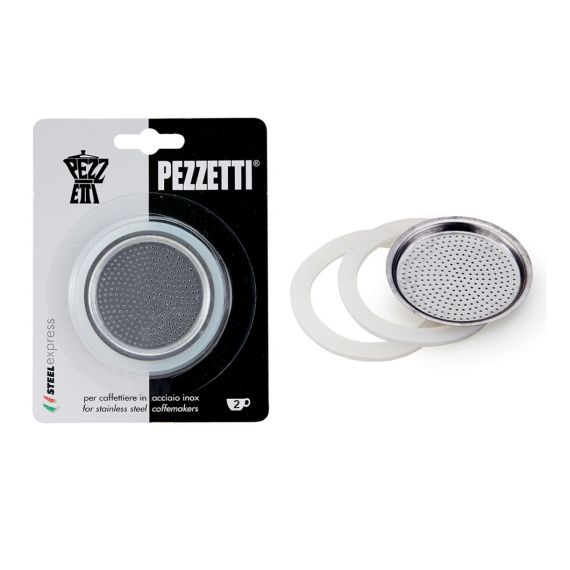 Pezzetti SteelExpress Stainless Steel replacement seal and filter kit