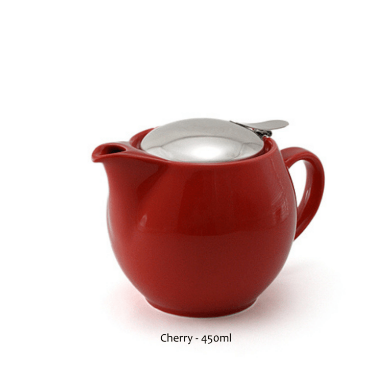 Zero Japan Teapot - 450ml Cherry