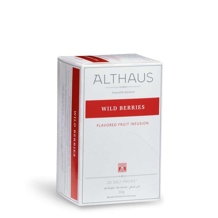 Althaus Wild Berries Fruit Tea - Deli Pack
