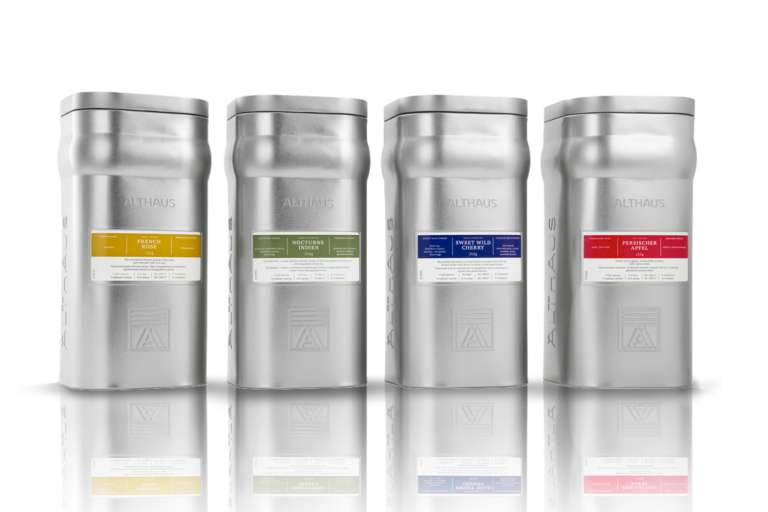 Althaus Storage Tins for Loose Tea - Product Display