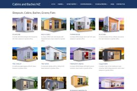 Cabins and Baches NZ