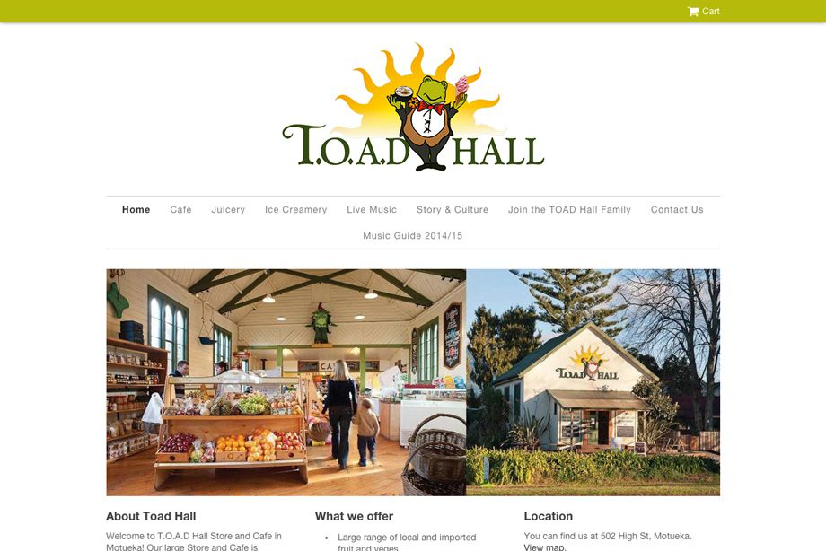 Toad Hall Store & Cafe