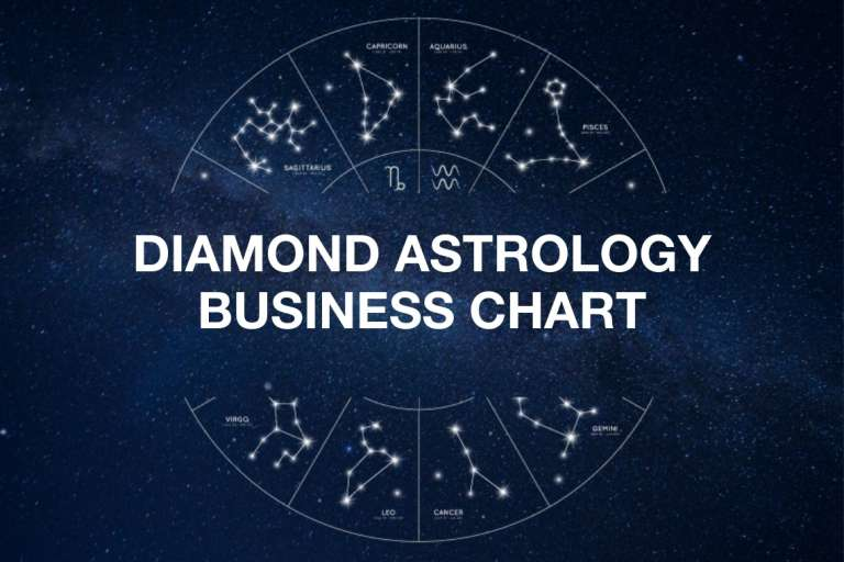DIAMOND ASTROLOGY BUSINESS CHART - 1.5 hr session