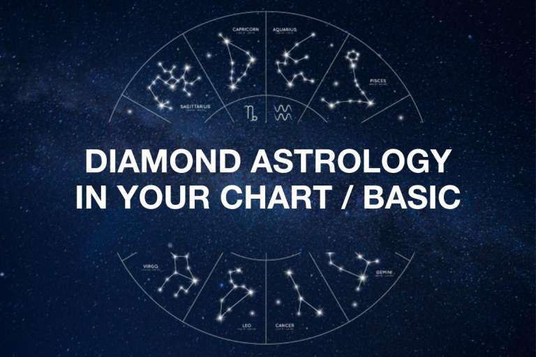 DIAMOND ASTROLOGY IN YOUR CHART / BASIC – 1 hr session