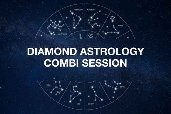 DIAMOND ASTROLOGY COMBI SESSION - 1.5 hr session